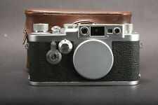 Leica IIIg w leather case -Excellent +++++