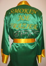 Smokin Joe Frazier Autographed Signed Boxing Robe Asi Proof