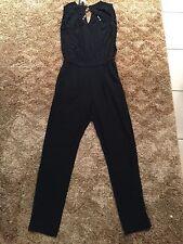 Mango  Women Jumpsuit in Black Size Small