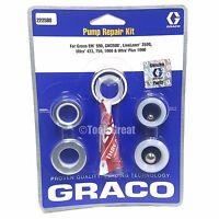 Graco GM EM 590, GM 3500, Ultra 433, 750 & 1000 Pump Packing Repair Kit 222588