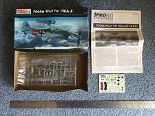 Pro Modeler Revell Monogram 1:72 FW 190A-8 kit #85-5943