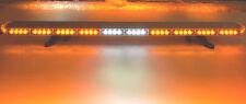"50"" LED AMBER  LIGHT BAR  TOW TRUCK  PLOW POLICE FIRE EMS PILOT CAR STROBE 505"