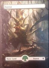Forêt Zendikar Altéré - Altered Forest - Magic mtg - Lisa