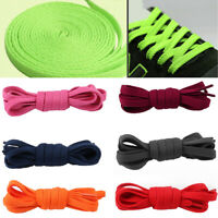 WOMEN MEN KIDS FLAT SNEAKER JOGGER SHOELACES SPORT HIKING WALKING SHOES LACES FI