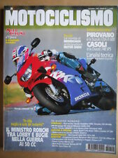MOTOCICLISMO n°12 1998 Suzuki GSX-R 600 Ducati 748 SPS Yamaha YZF-R6 600 [P34]