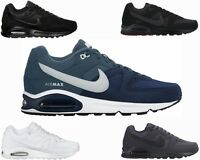 GENUINE MENS NIKE AIR MAX COMMAND BLACK NAVY GREY TRAINERS SIZES UK 6 - 12