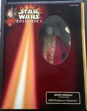 Star Wars Queen Amidala Red Senate Gown 1999 Portrait Edition