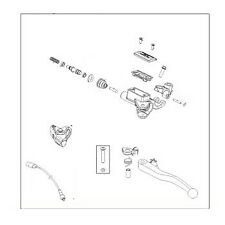 KTM Master Cylinder Magura D=10.5mm SMC 690 / Enduro 690 (60002130000)