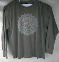 Harley Davidson | Graphic T Shirt Gray Barnett El Paso Motorcycles Sprocket L