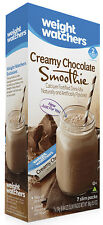 Weight Watchers CREAMY CHOCOLATE Smoothie SHAKE -1 Sealed Box = 7 Smoothie Mixes