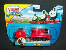Thomas and Friends James Engine Train Die-Cast Metal Take-n-Play Series Magnetic