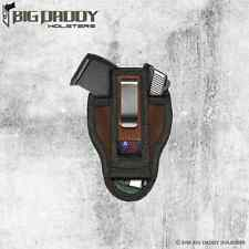 TAURUS JUDGE PUBLIC DEFENDER POLY TUCKABLE ITP IWB ITW HOLSTER - MADE IN U.S.A.