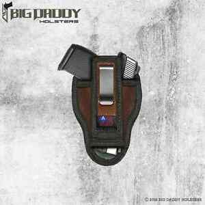 TUCK-ABLE CONCEALED CARRY/IWB HOLSTER FOR S&W M&P 380 SHIELD EZ BY ACE CASE