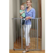 Pet Gates Extra Tall Baby Gate Tallest Big Walk-Thru Dog Barrier Fence Doorway