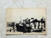 KGB SEIZED German RARE TIGER TANK & FLAME THROWER archive stamped signed