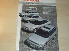 28353) Subaru Legacy Justy Libero Prospekt 1990