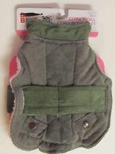 BOOTS & BARKLEY Dog Jacket Corduroy Sage Color X Small