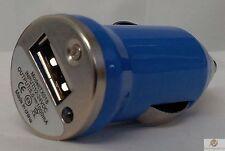 BLU UNIVERSALE UNICO CAVO USB Auto Sigaretta Accendino Caricabatterie Adapter 1 telefono