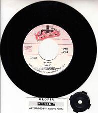 """THEM Gloria (VAN MORRISON) &  MARIANNE FAITHFUL As Tears Go By 45 7"""" NEW vinyl"""
