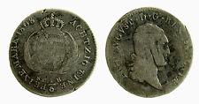 pcc2132_16)  German States SAXONY-ALBERTINE 1/6 Thaler KM# 1050 1808 SGH