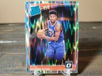 2018-19 Donruss Optic Deandre Ayton Rated Rookie Shock Wave Phoenix Suns RC