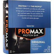 Promax Original Protein Bar Lemon Bar 12 bars