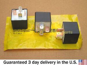 JCB BACKHOE - GENUINE JCB RELAY CHANGEOVER, SET OF 3 PCS. (PART NO. 40/303388)