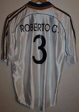 REAL MADRID SPAIN 1998/1999 TEKA FOOTBALL SHIRT JERSEY ADIDAS #3 ROBERTO CARLOS