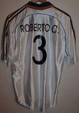 Real Madrid España 1998/1999 Teka Jersey Camiseta De Fútbol Adidas #3 Roberto Carlos