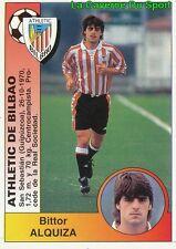 036 ALQUIZA ESPANA ATHLETIC BILBAO STICKER CROMO LIGA 1995 PANINI