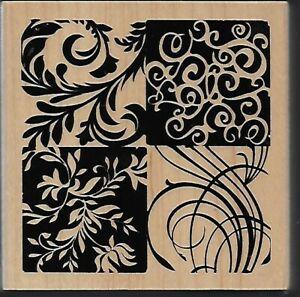 INKADINKADO rubber stamp FLOURISHES