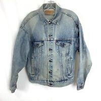 Vintage Levis Jean Jacket Men's Size M Denim