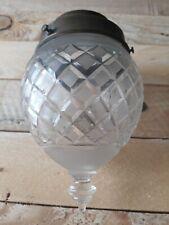 Lampe Lustre Applique A Facettes Biseautées Art Deco