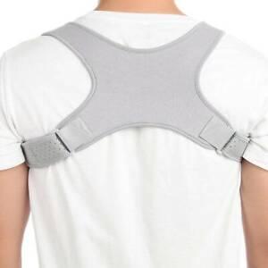 Adjustable Back Posture Corrector Shoulder Straighter Support Brace Men Women US