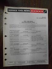 Vintage Honda Service Tool News 1981-1984 XL100S 3134-6183