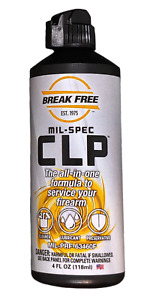 Breakfree Cleaning Lubricant Preservative Squeeze Bottle 4 Fluid Ounce CLP-4-1