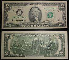 2 Dollar Schein New York (B) 2009 UNC. – Two Dollars New York, NY (B) USA unc.