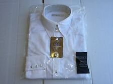NEW Ladies Kustom Kit K743 Long Sleeve Business Shirt.  White XS/8. L111