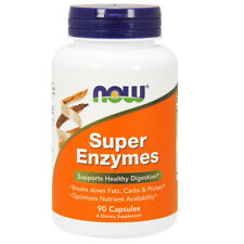 NOW Foods Super Enzymes, 90 Capsules - Supports Healthy Digestion