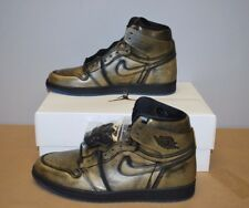 Nike Air Jordan Retro 1 OG Wings Black/Metallic Gold AA2887-035 Men's  Sz. 11.5