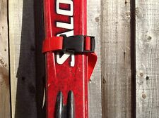 Red Ski Tie Strap Quick Release Buckle 25mm Webbing