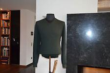 Fedeli Herrenpullover aus Super 160´s Wolle NP. 590€ - Gr.52 dunkel grün