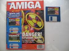 CU Amiga magazine July 1994 With GB Route 1.1 Program and Elfmania Demo
