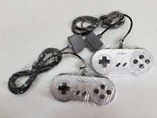2 (TWO) NEW Silver Official Original YOBO  FC TWIN Controllers Control pad   i13