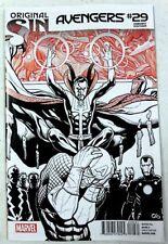 AVENGERS # 29 Original Sin CHO B&W Variant Marvel Comic 1st Print NM/UNREAD