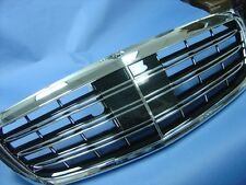 MAYBACH & S65 STYLE FRONT GRILLE ASSEMBLY A2 FOR 2014-2017 MERCEDES W222 S-CLASS