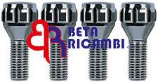 KIT 4 BULLONI ANTIFURTO CORA PER RUOTE IN LEGA LANCIA DELTA III> M12X1.25