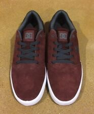 DC Crisis Size 11 Mens Burgundy BMX Skate Shoes Sneakers
