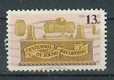 Briefmarken USA 1977 1. Tonaufnahme Mi.Nr.1293