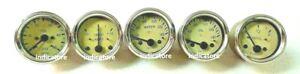 Classic Car Smiths Replica Electrical Oil Temp Amp Fuel Mechanical Oil Gauge